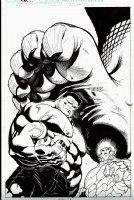 Hulk #28 Cover (2010) Comic Art