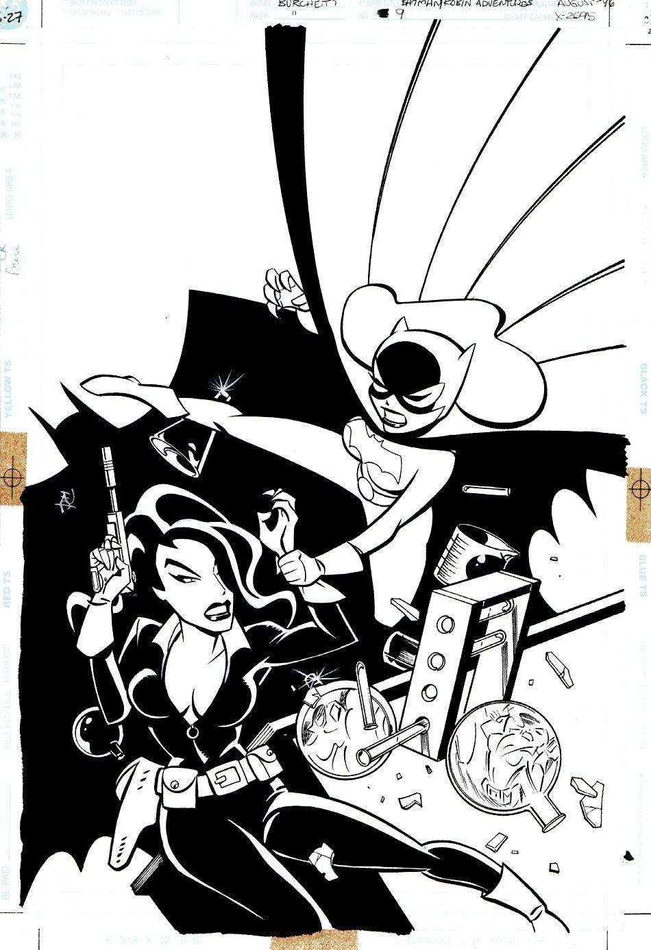 Batman and Robin Adventures #9 Cover (1996)