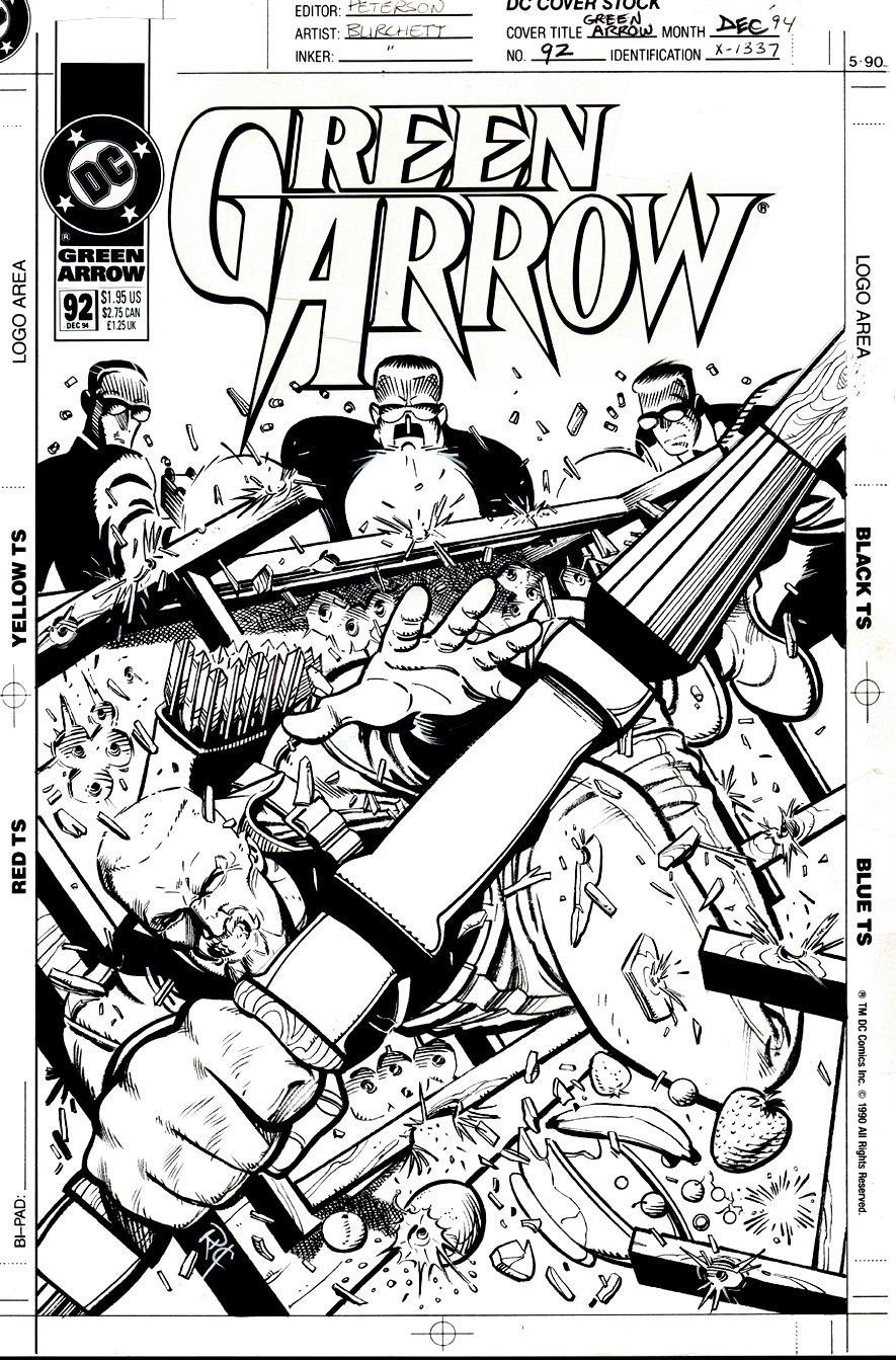 Green Arrow #92 Cover (1994)