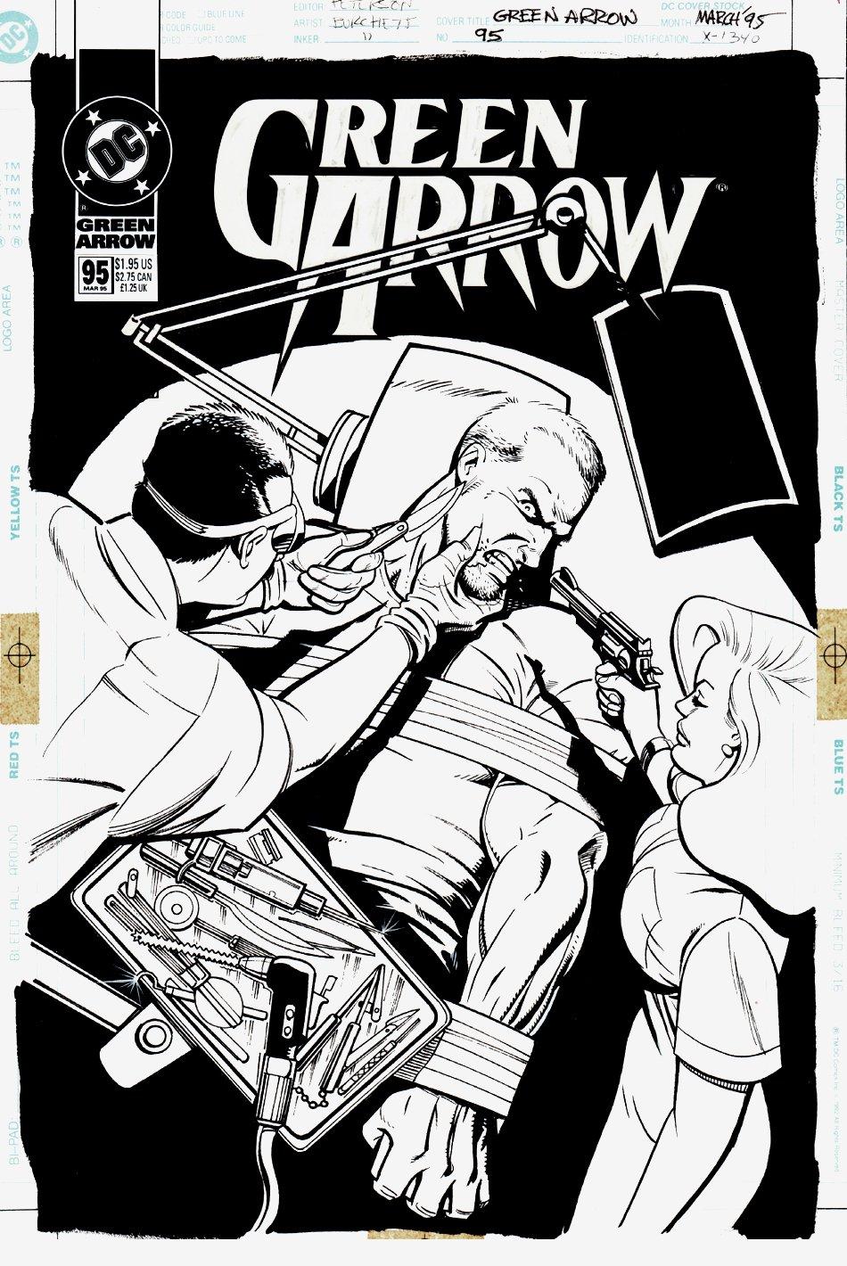 Green Arrow #95 Cover (1994)