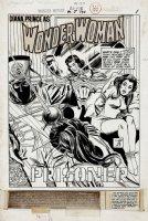 Wonder Woman #194 p 1 SPLASH (1970) Comic Art