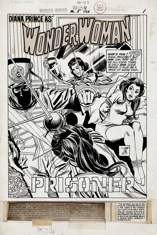 Wonder Woman #194 p 1 SPLASH (1970)