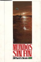 'Mundos sin Fin' Cover Painting (1967) Comic Art