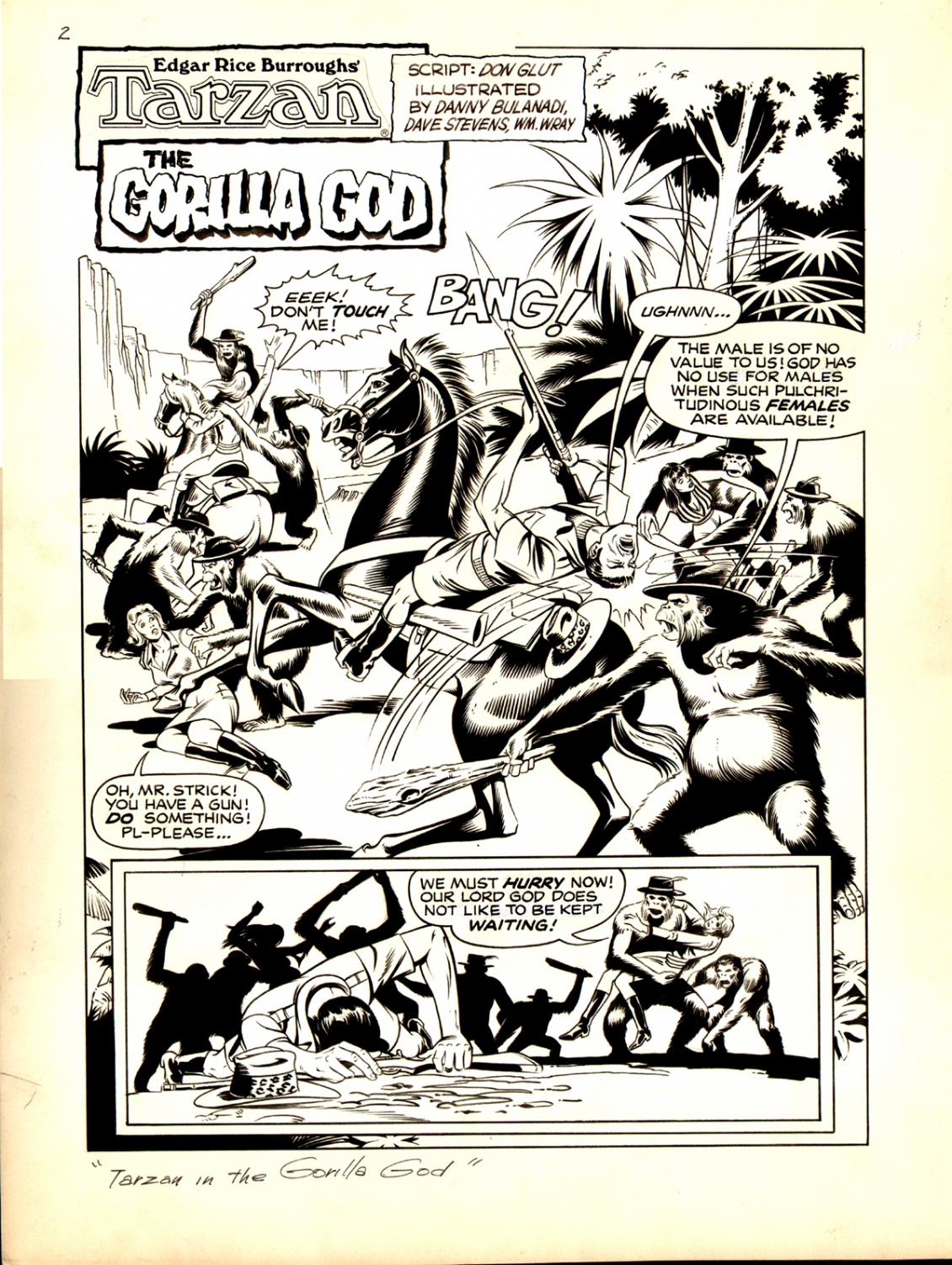 Tarzan Weekly #12 p 2 (Large Art) 1977