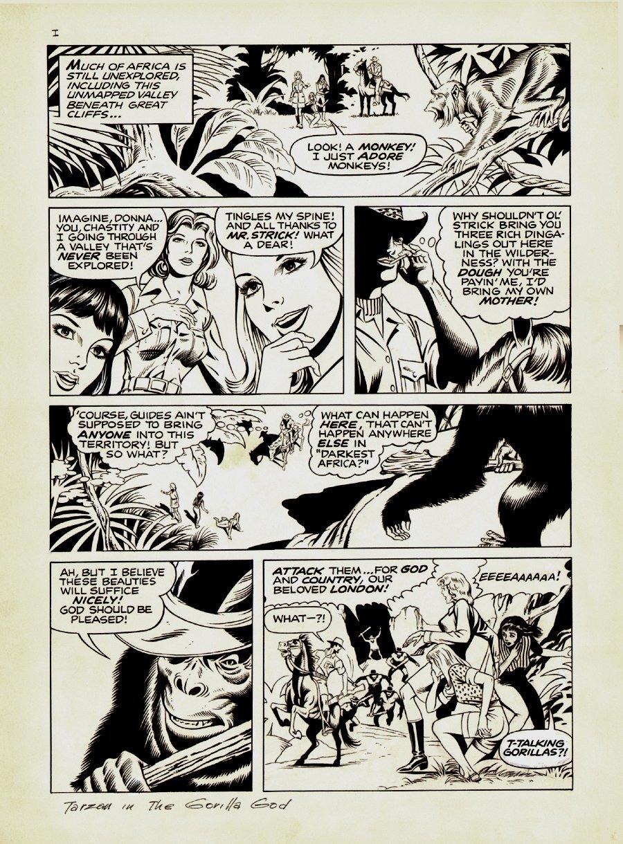 Tarzan Weekly #12 p 3 (Large Art) 1977