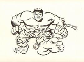 Incredible Hulk T-Shirt Design Art Comic Art