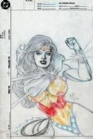 Wonder Woman Unpublished Cover Art (1991) Comic Art