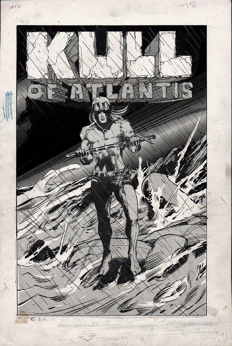 Kull Of Atlantis Cover (Precursor To Conan The Barbarian #1) 1969-1970