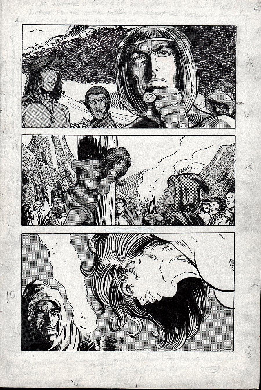 Kull Of Atlantis p 10 (Precursor To Conan The Barbarian #1) 1969-1970