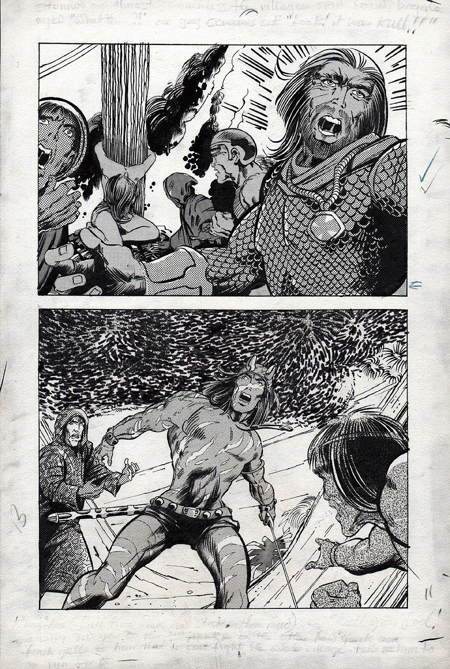 Kull Of Atlantis p 13 (Precursor To Conan The Barbarian #1) 1969-1970