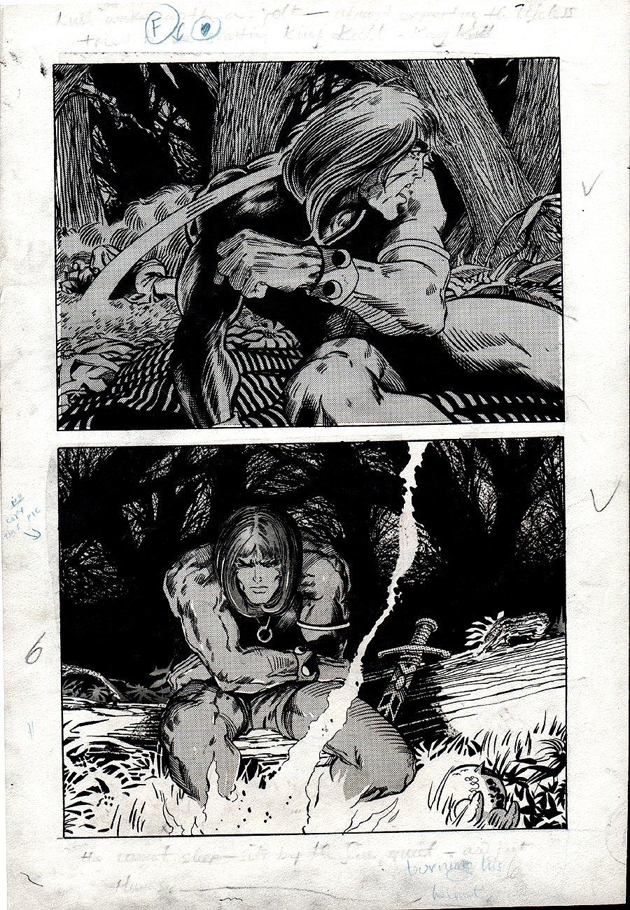 Kull Of Atlantis p 6 (Precursor To Conan The Barbarian #1) 1969-1970