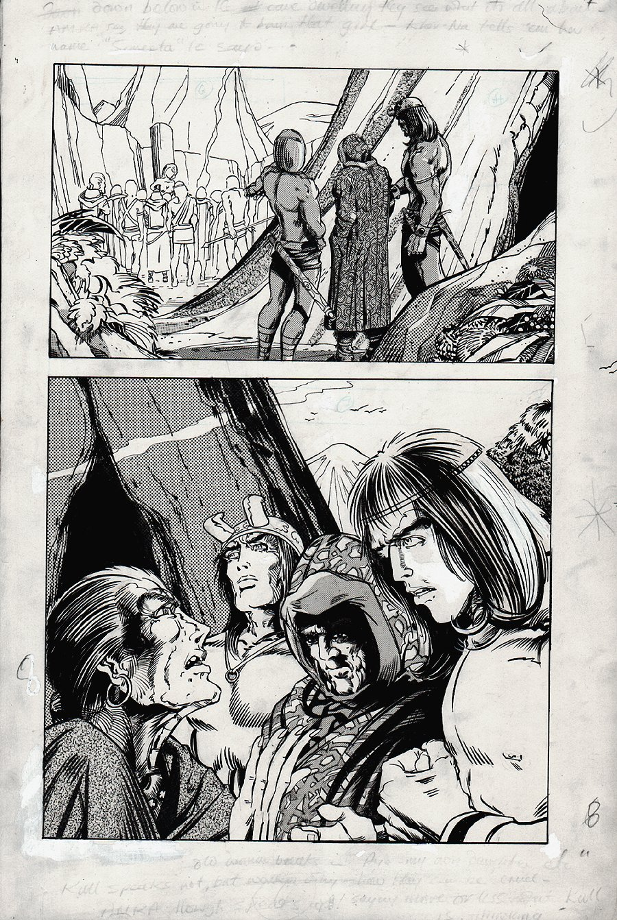 Kull Of Atlantis p 8 (Precursor To Conan The Barbarian #1) 1969-1970