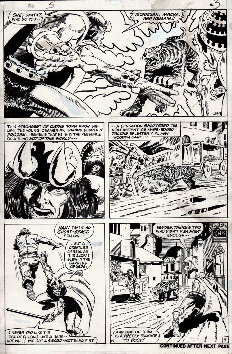 Conan #5 p 3 (1971)