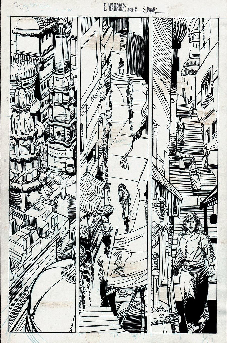 Eternal Warrior #6 p 1 (1992)