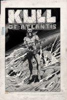 Kull Of Atlantis Cover (Precursor To Conan The Barbarian #1) 1969-1970 Comic Art