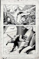 Kull Of Atlantis p 14 (Precursor To Conan The Barbarian #1) 1969-1970 Comic Art