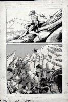 Kull Of Atlantis p 15 (Precursor To Conan The Barbarian #1) 1969-1970 Comic Art