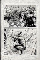 Kull Of Atlantis p 16 (Precursor To Conan The Barbarian #1) 1969-1970 Comic Art