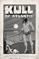 Kull Of Atlantis p 1 SPLASH (Precursor To Conan The Barbarian #1) 1969-1970 Comic Art
