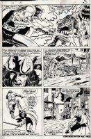 Conan #5 p 3 (1971) Comic Art