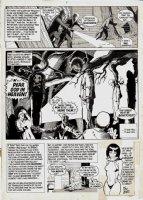 Vampirella #9 Last Page ( Large Art) 1971 Comic Art