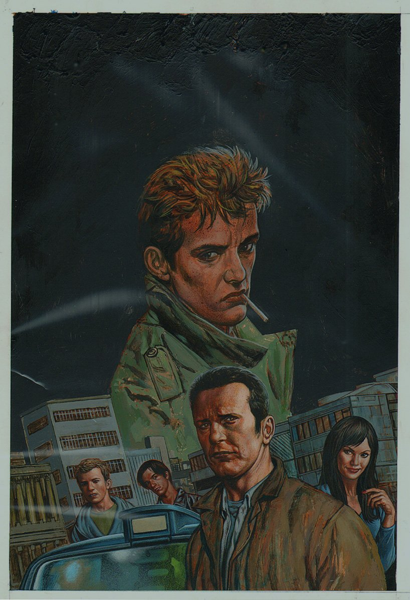 Hellblazer Special: Chas #1 Cover (2008)