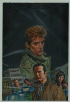 Hellblazer Special: Chas #1 Cover (2008) Comic Art