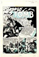 Crime Patrol #16 Complete 7-Pg Story (Large Art) 1950 Comic Art