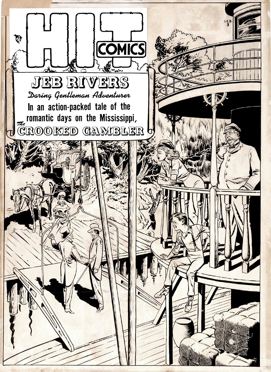 Hit Comics #63 Cover (Large Art) 1949