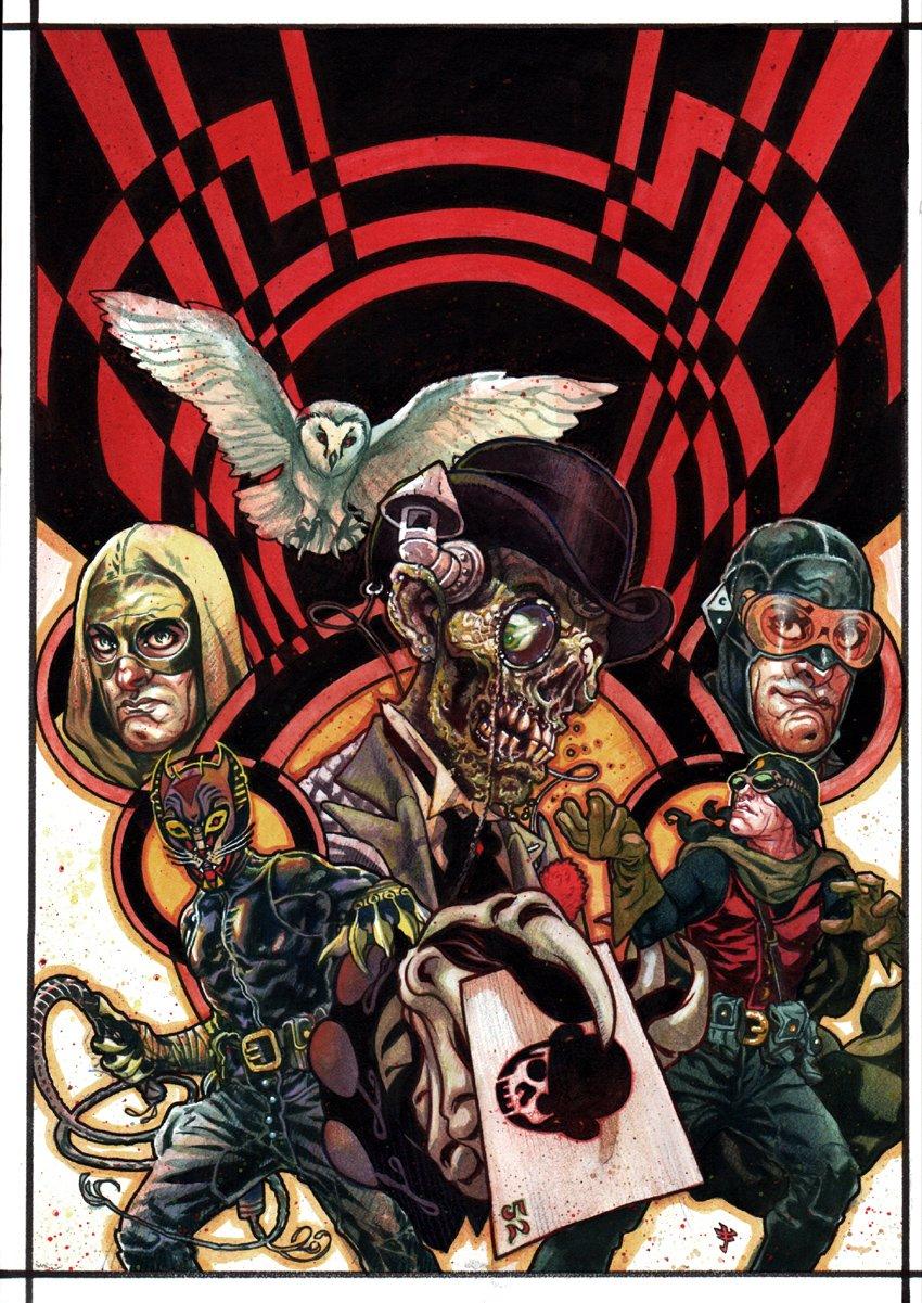 JSA Liberty Files: The Whistling Skull #1 Cover (2012)