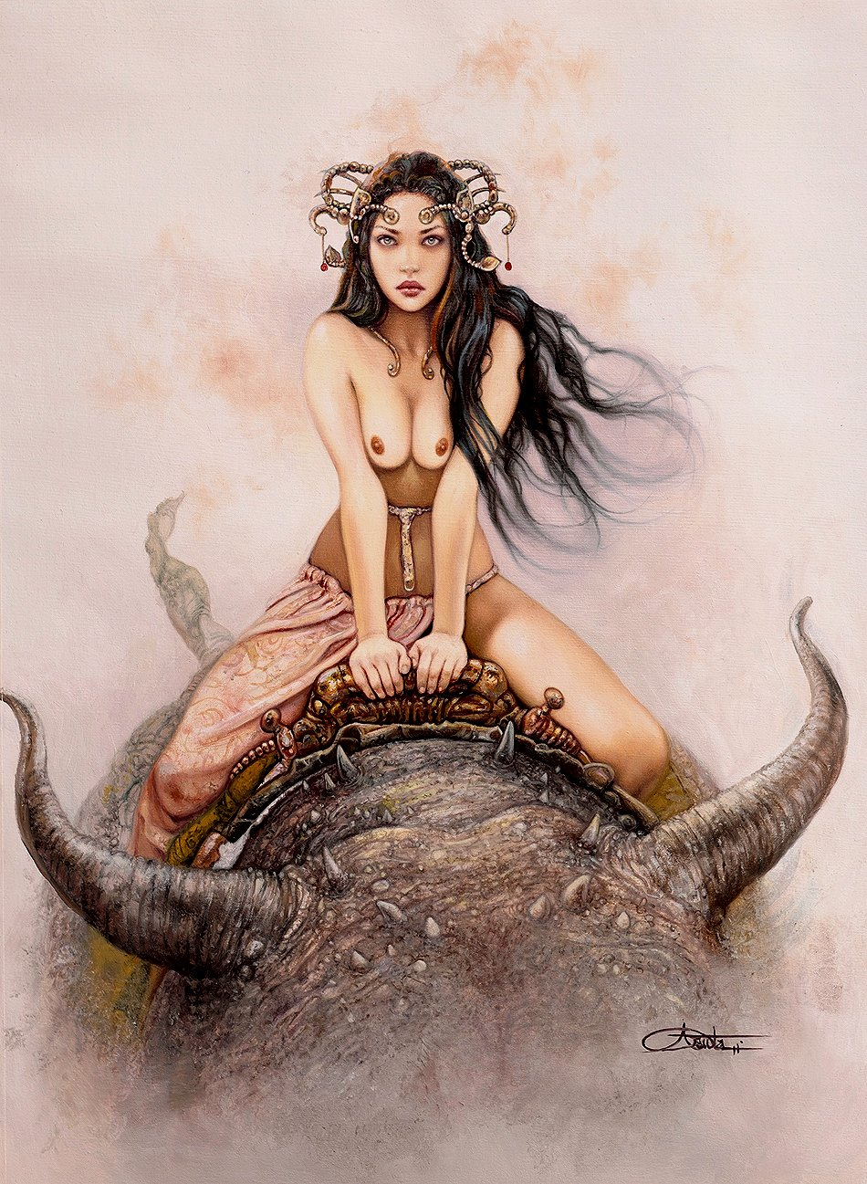 Dejah Thoris Superbly Detailed Painting