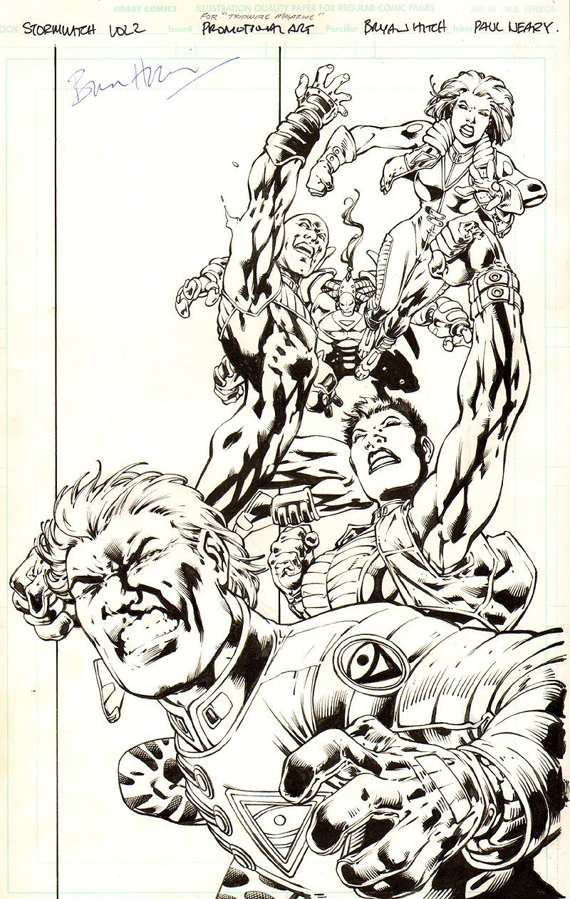 Stormwatch #8 Cover (1998)