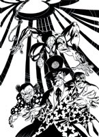 Spectacular Spider-Man 221 Cover Comic Art
