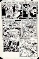 Saga of Swamp Thing Issue 38 Page 13 (1983) Comic Art