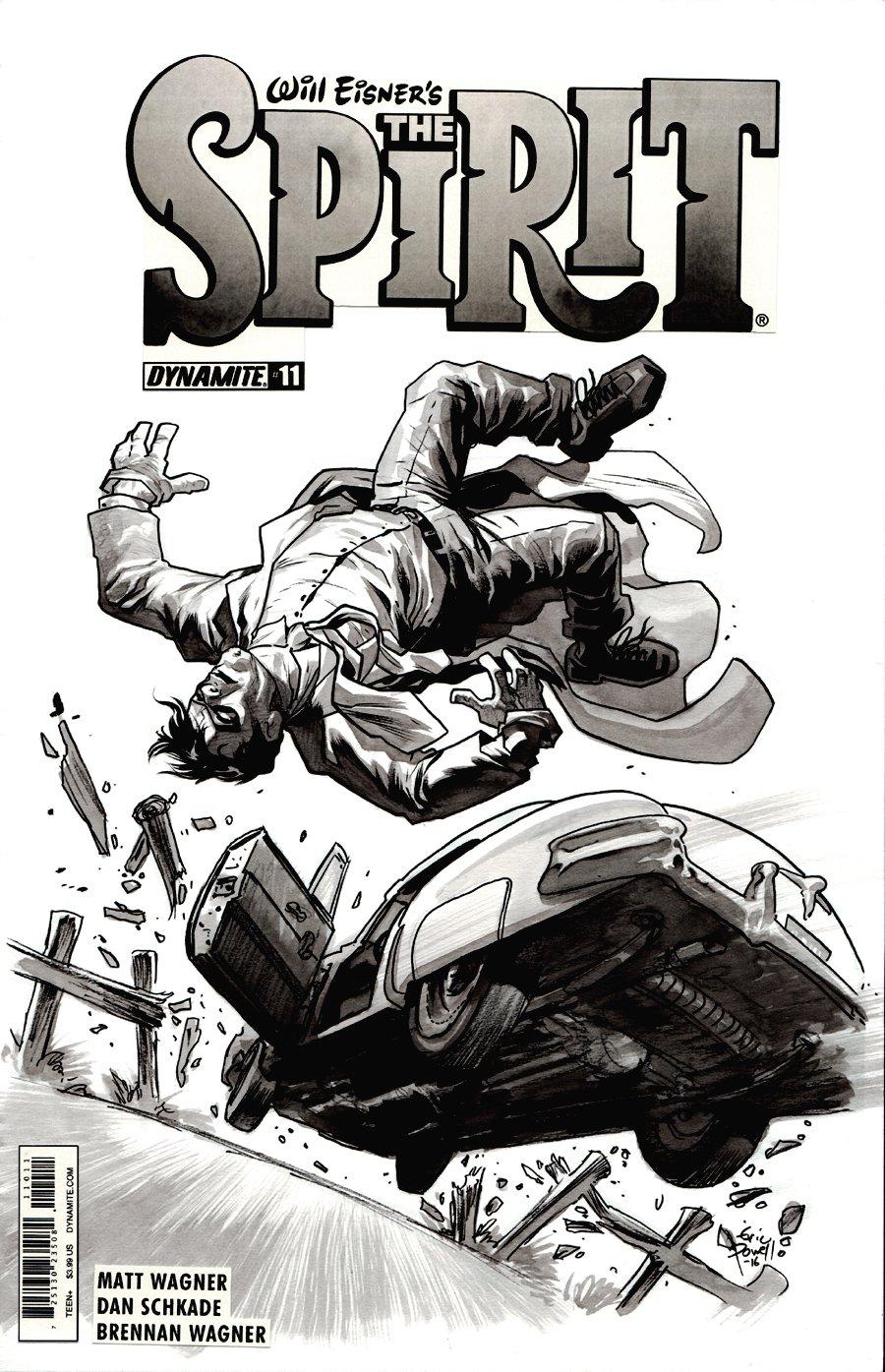 Will Eisner's The Spirit #11 Cover (2015)