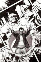 GOON  Published Pinup Comic Art