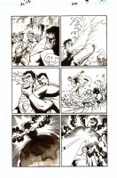 Action Comics   Issue 855 Page 17 (2007)  Comic Art