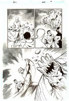 Action Comics   Issue 857 Page 10 (2007)  Comic Art