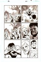 Action Comics   Issue 857 Page 13 (2007)  Comic Art