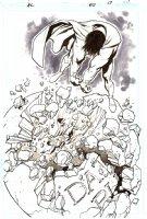 Action Comics   Issue 857 Page 17 SPLASH (2007)  Comic Art