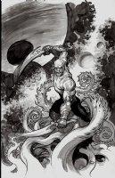 Drax #3 Cover (2015) Comic Art
