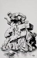 The Goon #37 (25th Anniversary Cover) 2011 Comic Art