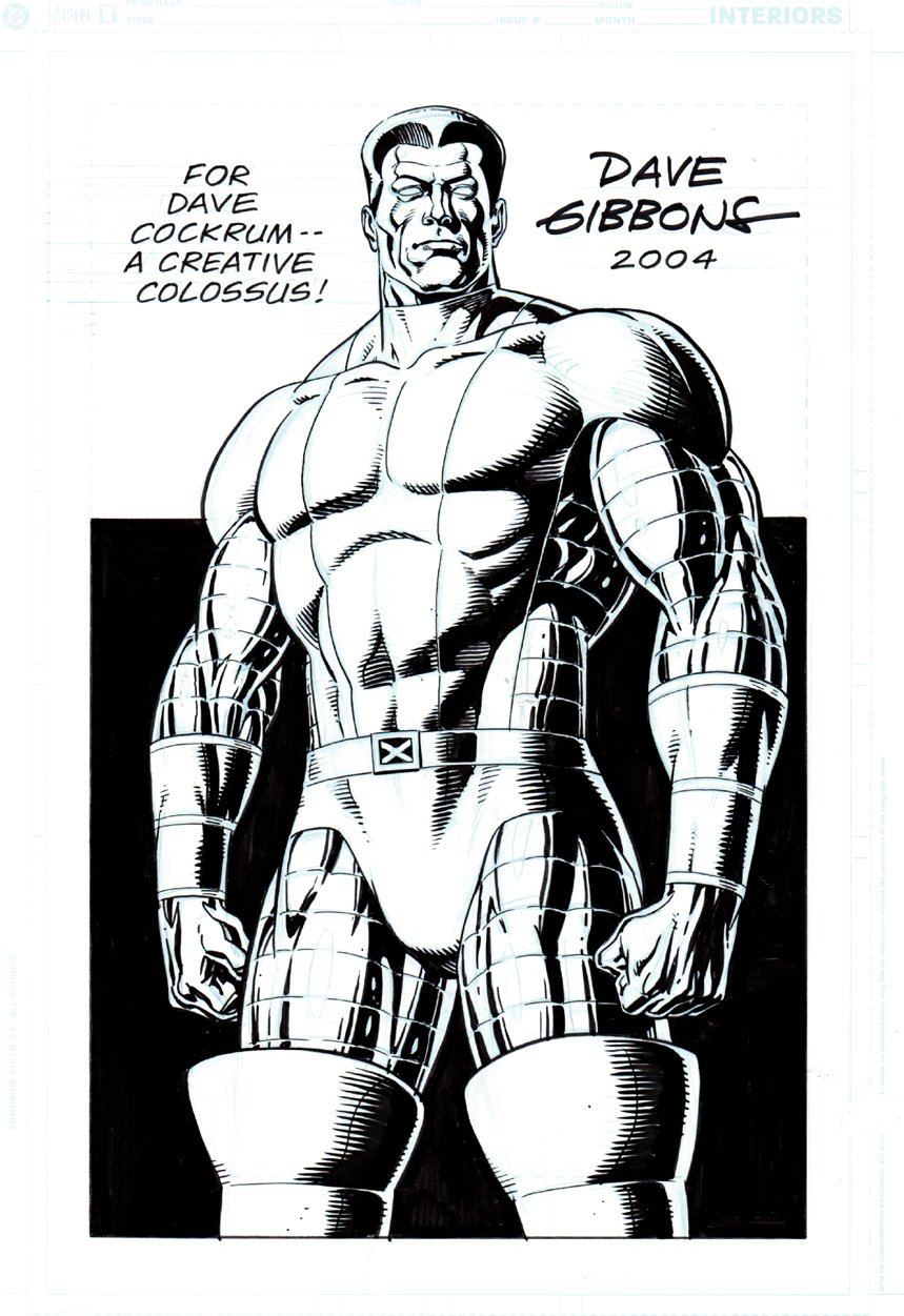 Published Colossus Pinup (2004)