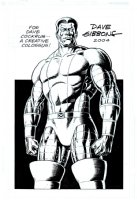 Published Colossus Pinup (2004) Comic Art