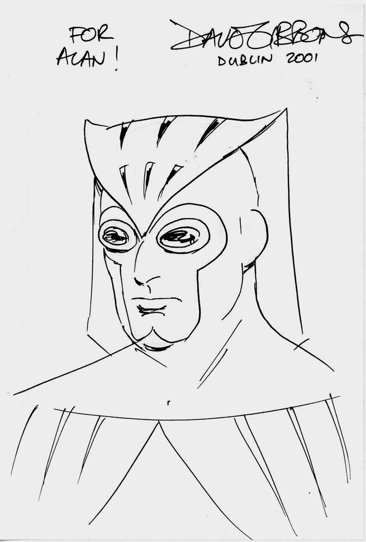 Watchmen Nite Owl convention Drawing (2001)