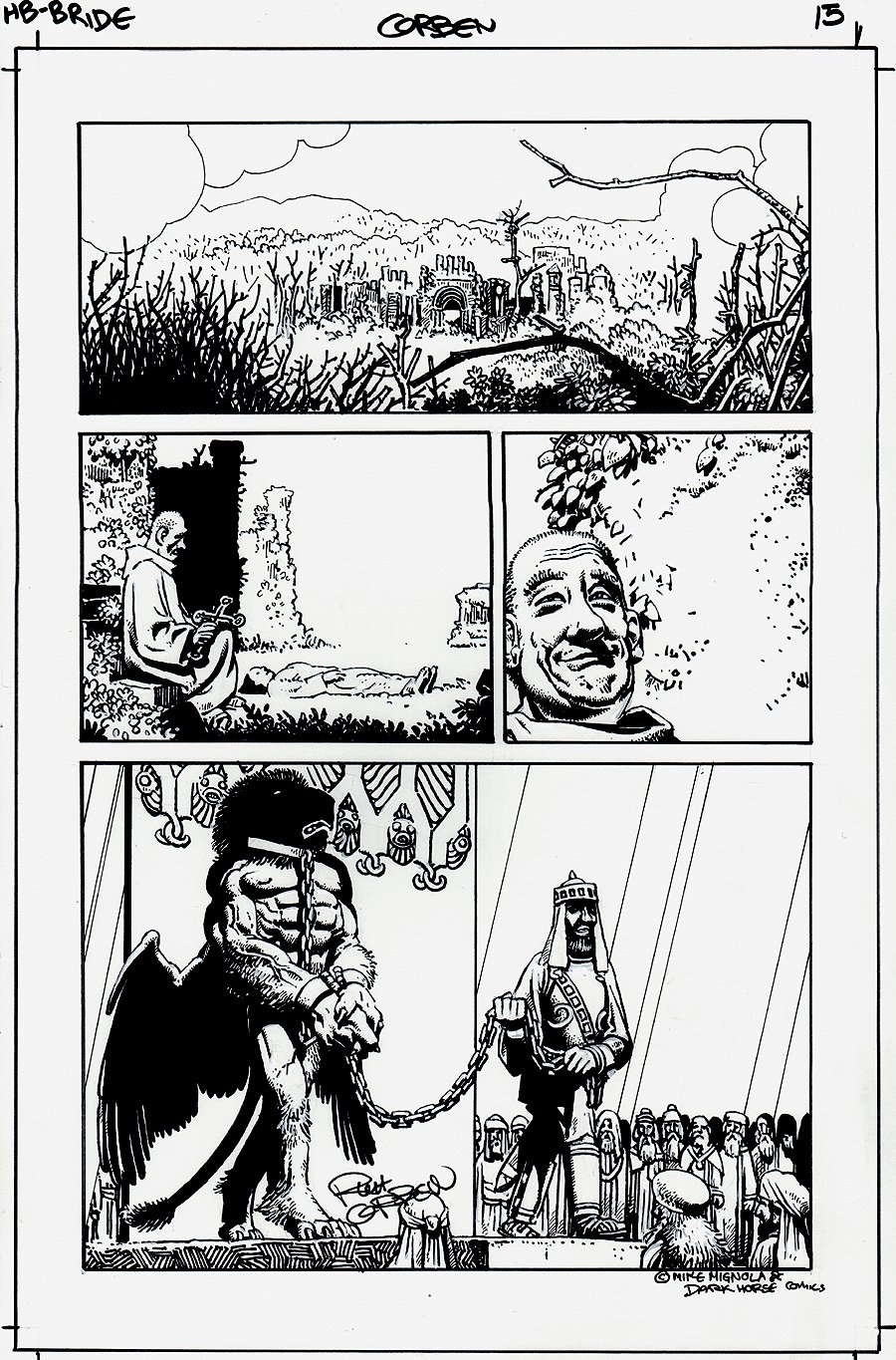 Hellboy: The Bride of Hell #1 p 15 (2009)