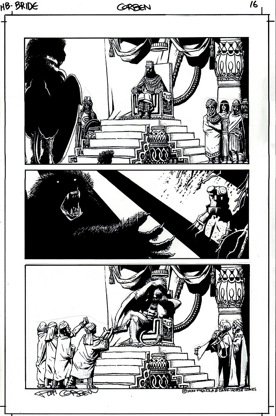 Hellboy: The Bride of Hell #1 p 16 (2009)