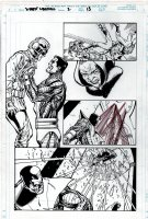 Xmen Liberators #2 p 13 Page sb Comic Art