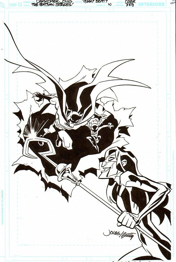 Batman Strikes #40 Cover (2008)