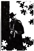 The Shadow Now #4 Unpublished Cover (2014) Comic Art